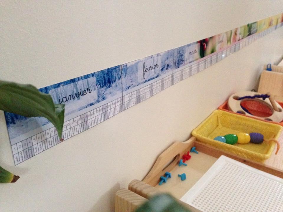 Poutre Du Temps Alternative Montessori